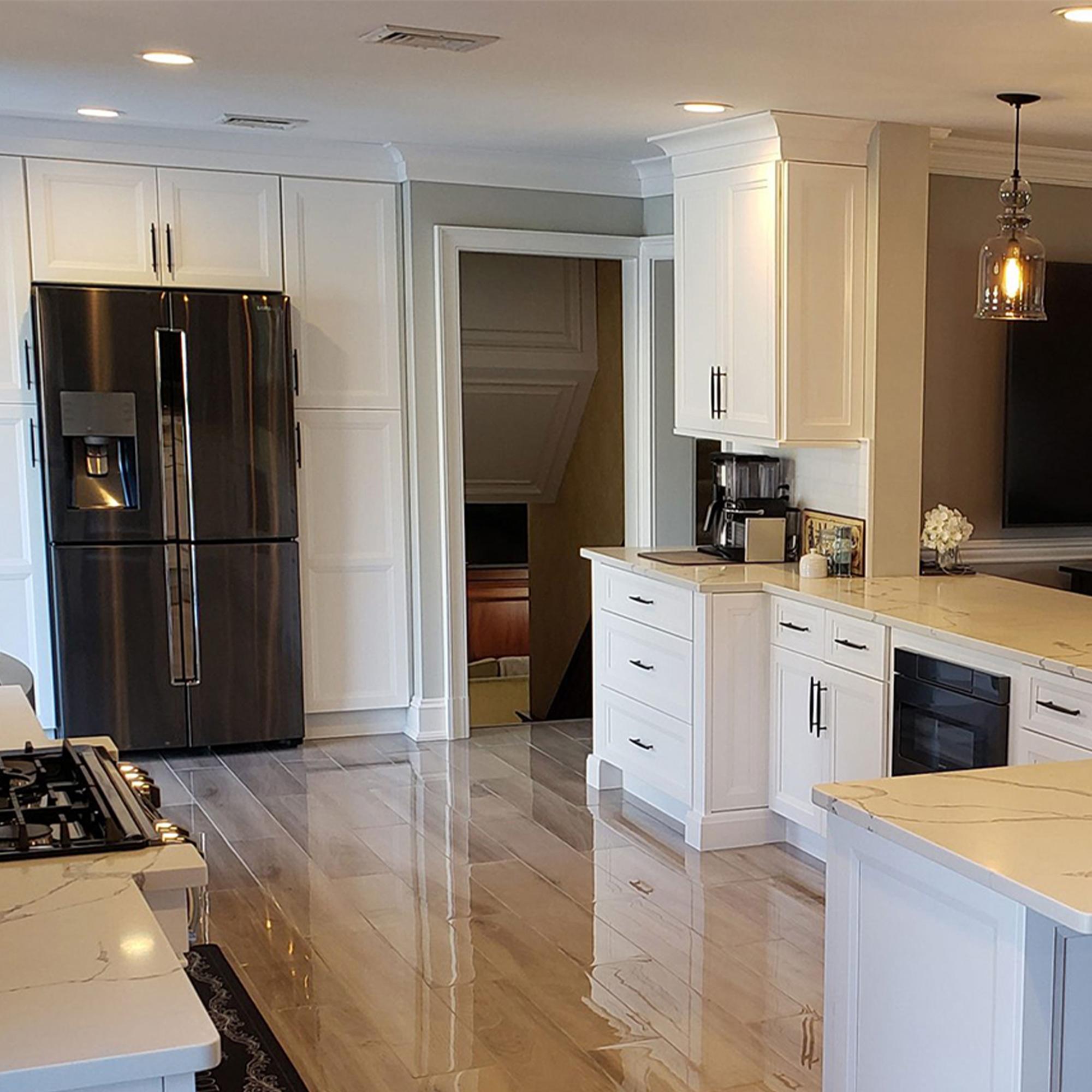 Crown Molding Kitchen Installation New Jersey